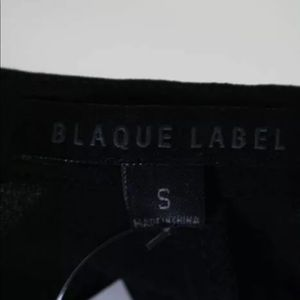 Blaque Label Tops - BLAQUE LABEL COLLARLESS BUTTON DOWN HIGH-LOW TOP